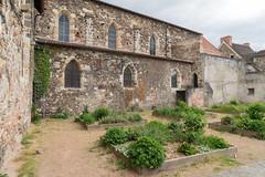 1787 Montluçon - Jardins près de l'église Notre-Dame