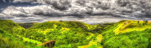 Monsal Dale and the Headstone Viaduct