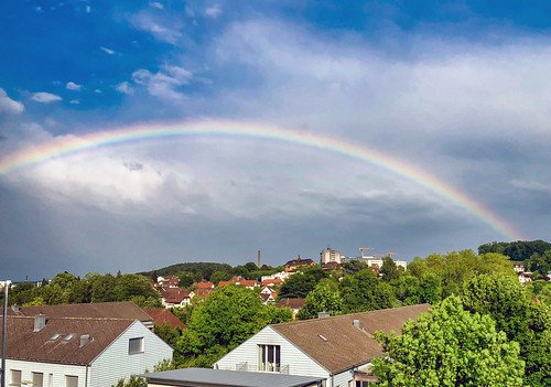 Rainbow over Solothurn