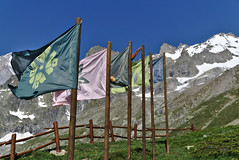 flags at Pavillon