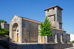 1950 Eglise Saint-Etienne de Mélas (Baptistère)