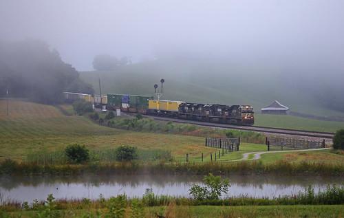 Foggy Morning at Arcadia