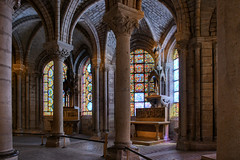 Basilique de Saint-Denis, Chapelle de la Vierge