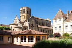 2367 Collégiale Saint-Hilaire, Semur-en-Brionnais - Photo of Baugy