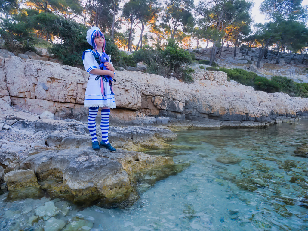 related image - Shooting Stocking - Citoyenne Z - Calanque de Port Pin -2019-06-08- P1699118