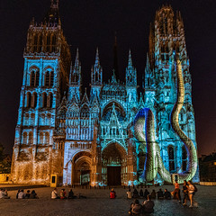 Light Show at the Cathedral
