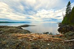 LONG BEACH, TURTLE ISLAND, LAKE SUPERIOR near WAWA ON CANADA and MICHIPICOTEN FIRST NATION ON CANADA, ACA PHOTO
