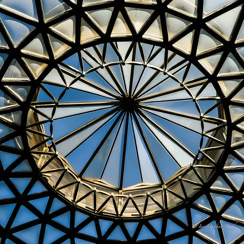 The domed roof