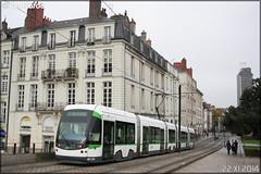 Bombardier Incentro - Semitan (Société d'Économie MIxte des Transports en commun de l'Agglomération Nantaise) / TAN (Transports en commun de l'Agglomération Nantaise) n°372 - Photo of Nantes