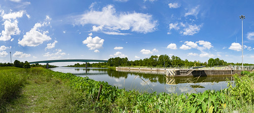 Howell Heflin Lock and Dam Panorama