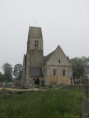 Église Saint-Aubin de Vaux-sur-Aure 2018