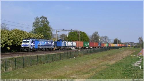 RTBC 186 426 [Rotterdam] + V155 | Breda | 18-04-2019