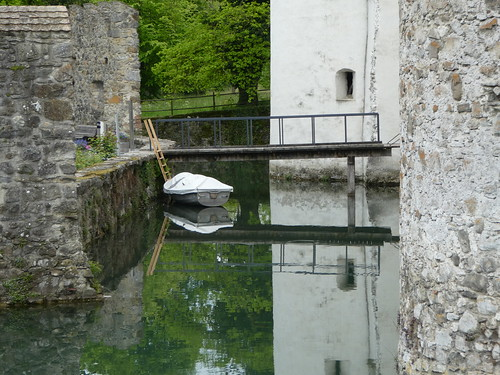Boat in the moat