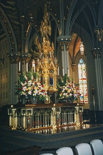 Basilica of the Sacred Heart -  Notre Dame - Indiana  - High Altar