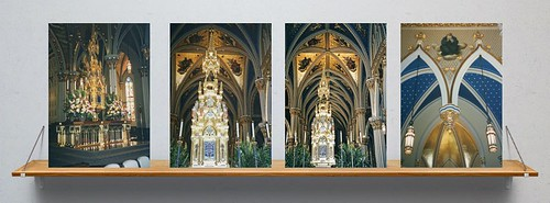 Basilica of the Sacred Heart -  Notre Dame  University - Indiana High Altar  - South Bend Indiana