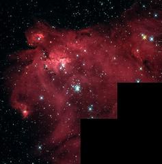 Emission nebula LHA 120-N 55