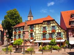 Ribeauvillé (Haut-Rhin, F) - Photo of Bergheim