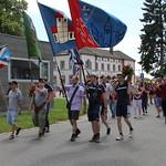 Abholen vom Eidgenössischen Turnfest in Aarau