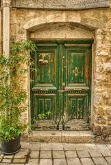 Old doors have stories to tell