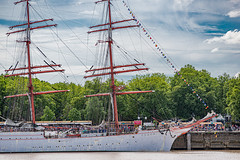 17-La proue du Sedov - Photo of Le Bouscat