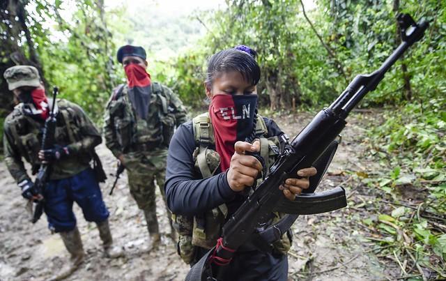 Exército de Libertação Nacional tem atualmente 2,3 mil membros em 16 dos 32 estados colombianos - Créditos: Foto: Raul Arboleda/AFP
