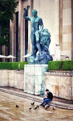 At the Trocadero, Paris - Photo of Châtillon
