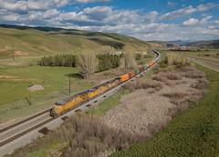 UP 2732 (ET44AH) Train:ZDVSC-11 Henefer, Utah