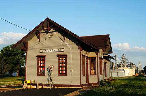 Former Orfordville, Wisconsin Railroad Depot