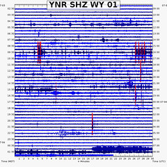 Steamboat Geyser eruption (1:16 AM, 4 July 2019) 2