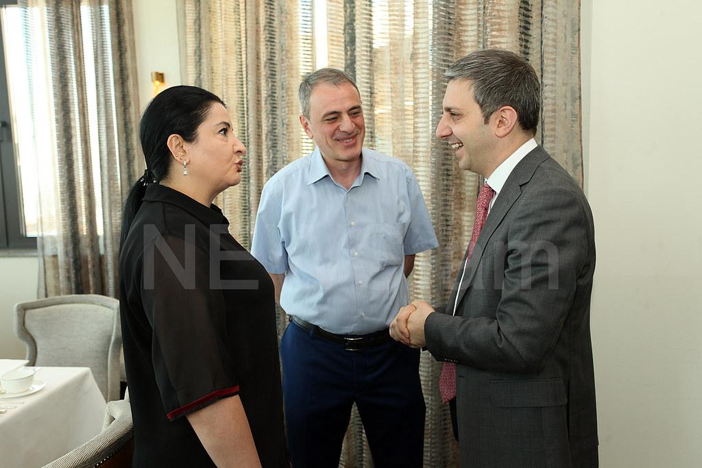 HSBC Armenia and EIAA have business lunch