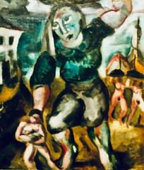 """Kid and """"Varina"""" (1928) - Mário Eloy (1900-1951)"""