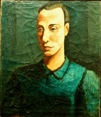 Self-Portrait (c.1928) - Mário Eloy (1900-1051)