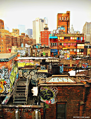 NYC Graffiti Buildings