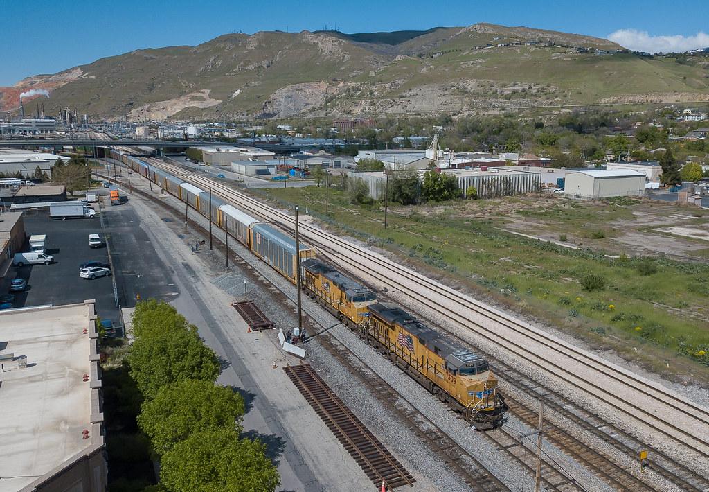 UP 7509 (GE ES44AC) Salt Lake City, Utah - Download Photo