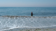 At Point Lookout Beach
