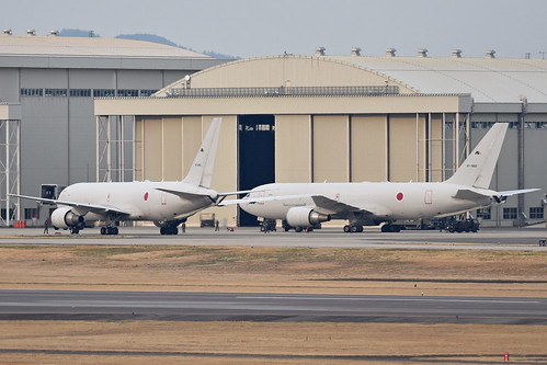 Boeing KC-767J '87-3601' & '87-3602'