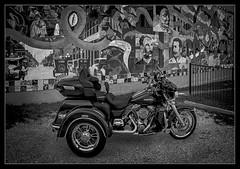 Ybor City Mural B&W