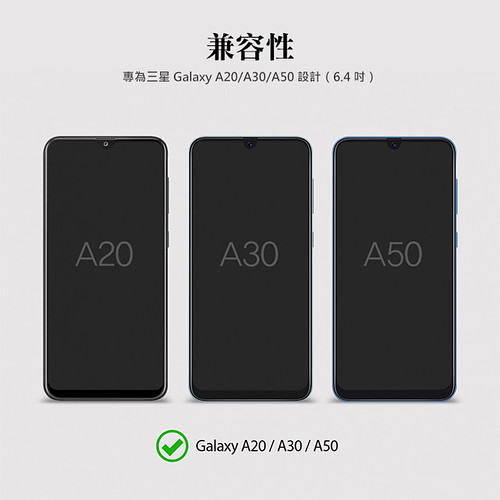 Galaxy A20/ A30/ A50 RINGKE DUAL EASY FILM