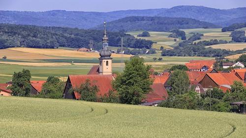 Unterwaldbehrungen Kirche Sankt Laurentius