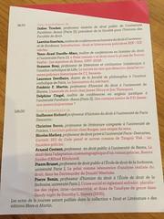 Colloque Droit et littératures policières XIXème-XXème siècles - Photo of Vanves