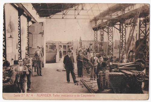 Almadén (Ciudad Real), taller mecánico y de carpintería
