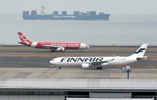 Finnair OH-LTR, Airbus A330-302X at NGO