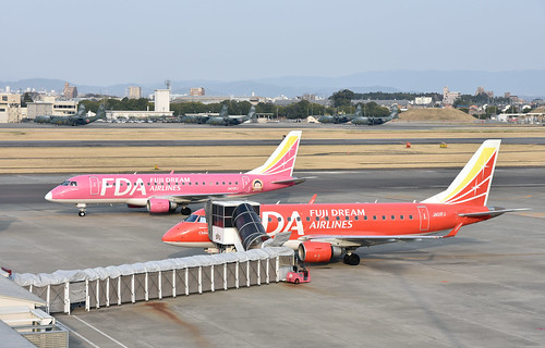 FDA JA01FJ, Embraer ERJ-170STD at NKM