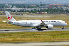 Japan Airlines - Airbus A350-900 - Photo of Aucamville