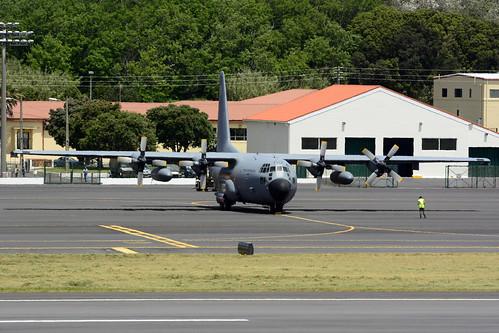 16805 - C130H Portuguese AF unmarked 170704 Lajes Field 1004