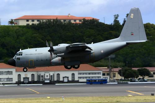 16805 - C130H Portuguese AF unmarked 170704 Lajes Field 1003