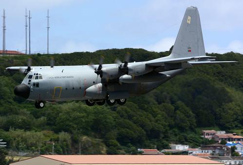 16805 - C130H Portuguese AF unmarked 170704 Lajes Field 1002