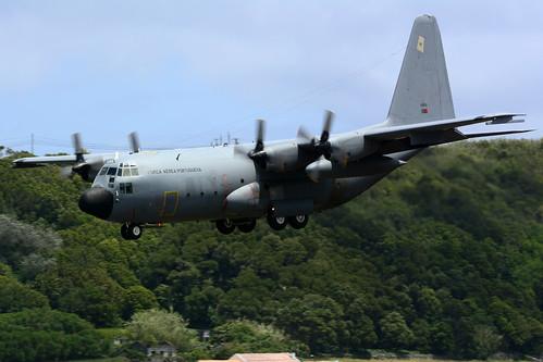 16805 - C130H Portuguese AF unmarked 170704 Lajes Field 1001