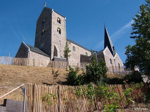 Collégiale saint Ursmer de Lobbes, Belgique.