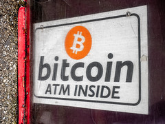 Bitcoin ATM Sign